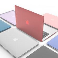 Caso Laptop Para Macbook Air 13 A2337 A2179 2020 Retina A2338 M1 Chip Pro 13 12 11 15 A2289 Nova Barra de Toque para Macbook Pro16 A2141