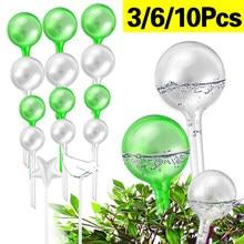 3/6/10 sztuk automatyczne podlewanie roślin żarówki samo podlewanie piłki dom ogród woda może urządzenie gospodarstwa domowego System nawadniania kropelkowego