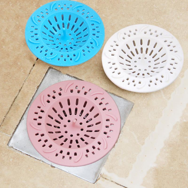 Bathroom Kitchen Drains Strainer Anti-block Sink Sewer Drain Filter Floor Hair Catcher Stopper Trap Strainer Kitchen Accessories