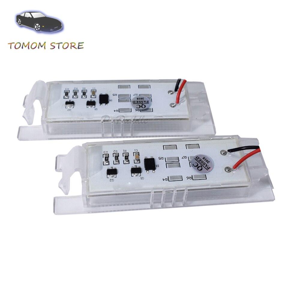 Lot de 2 /éclairages de plaque min/éralogique /à LED Canbus Plug/&Play Marque de contr/ôle E V-032111