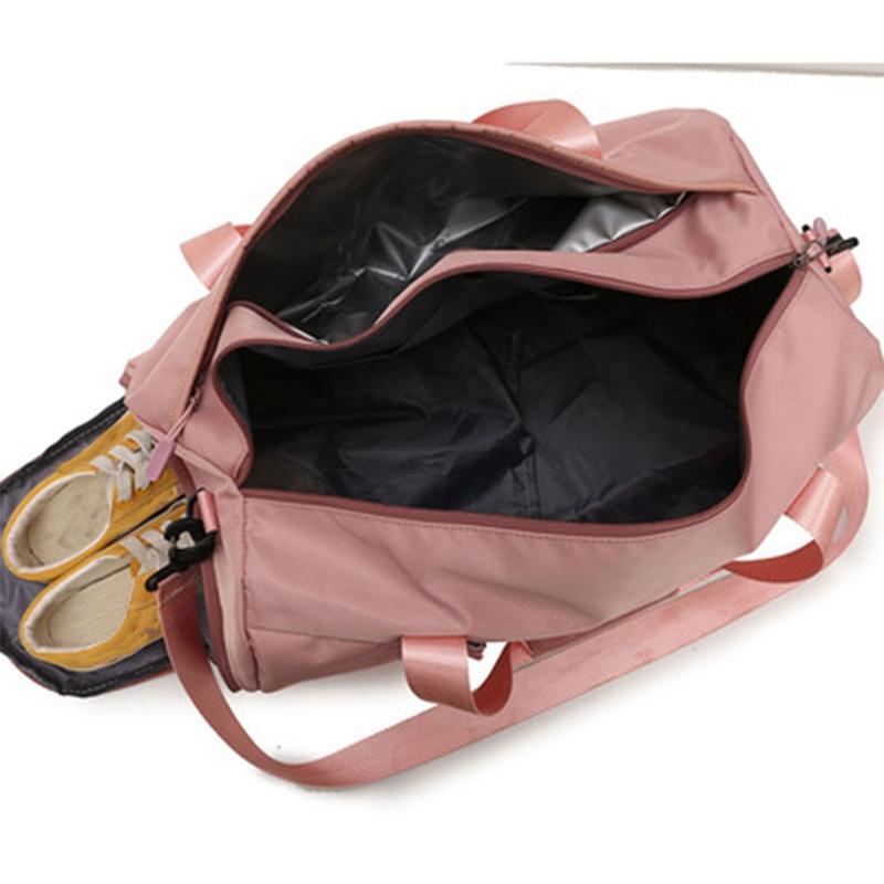Fitness Travel Handbag Dry And Wet Separation Trai