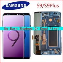 AMOLED Замена для SAMSUNG Galaxy S9 S9+ ЖК сенсорный экран дигитайзер с рамкой G960 G965 дисплей