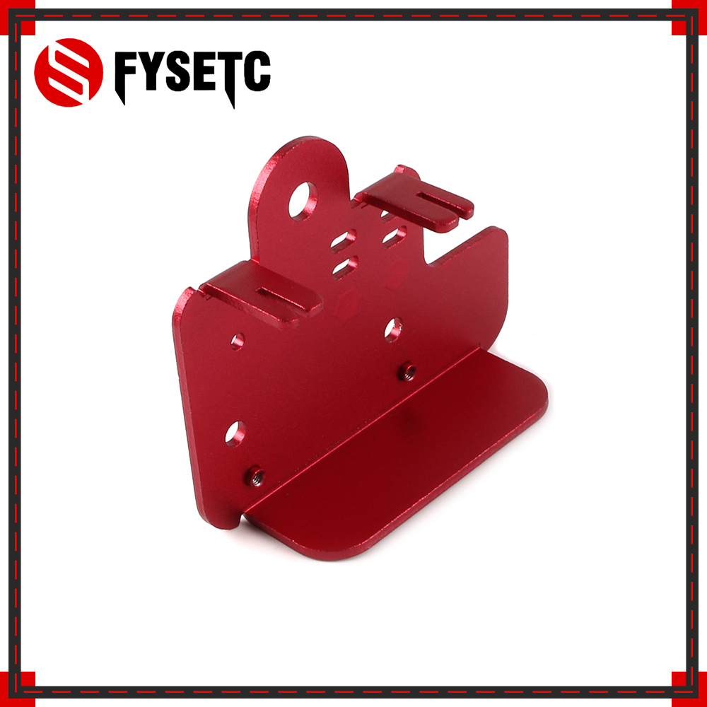 1PC Extruder Back Plate 2.5mm Aluminium Plate For Creality CR10S CR-10S Pro 3D Printer Part