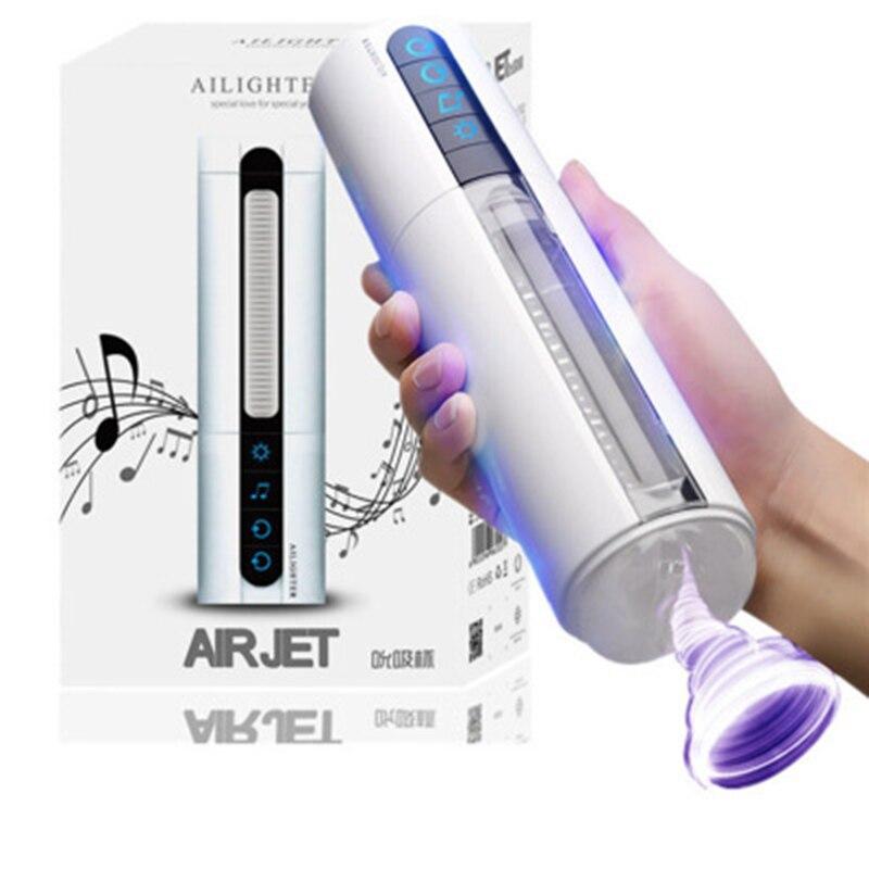 Intelligent Voice Heating Sucking masturbation machine Deep Throat Male Masturbators 4D Vagina Vibrator Pussy Sex Toys For Men.