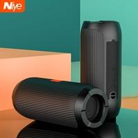 Niye Portable Bluetooth Speaker TWS Wireless Speakers Column Sound Bar Bass Subwoofer Waterproof TF SD TWS USB Flash Drive Play