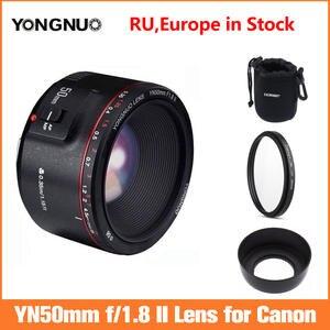 YONGNUO YN50mm F1.8 II Large Aperture Auto Focus Lens for Canon,Small Lens Bokeh Effect