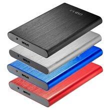 Zewnętrzny dysk twardy 2.5 przenośny dysk twardy HD Externo 80GB 160G 1TB 2 TB 4TB USB3.0 dysk twardy do komputera przenośny HD