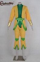 Cosplaydiy dziwna przygoda JoJo Dio Cosplay kostium dla dorosłych mężczyzn Cosplay pełna kostium Halloween stroje wykonane na zamówienie w Kostiumy anime od Elementy błyszczące i specjalne zastosowania na