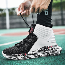 New mens large size high top sneakers casual running shoes outdoor lightweight wear resistant basketball shoes Zapatos Hombre