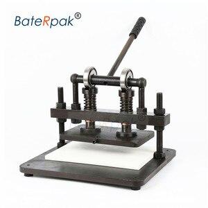 Image 5 - 26 × 16 センチメートルダブルホイール手の革切断機、baterpak写真用紙、pvc/evaシート型カッター、革ダイ切断機