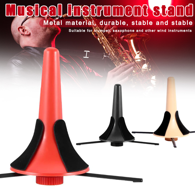 New Portable Detachable Trumpet Tripod Stand Instrument Saxophone Holder XD88