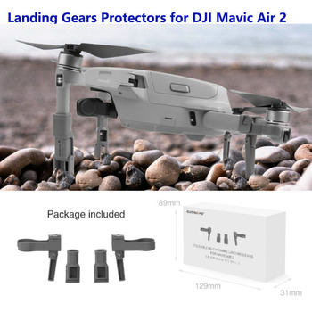Foldable Support Leg Heightening Landing Gears Protectors for DJI Mavic Air 2 Drone Accessories