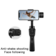 3-Axis Handheld Gimbal Stabilizer w/Focus Pull & Zoom for iPhone Xs X 8 Plus 7 6 SE Samsung Action Camera anti-shake live video hohem isteady pro 3 splash proof 3 axis handheld gimbal stabilizer for gopro hero 8 7 6 dji osmo rx0 action camera pro 2 upgrade