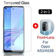 Tempered-Glass Oppo A53 Lens-Film Screen-Protector Safety-Protective-Glass-Film for A53S