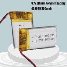 3,7 V 300mAh 402035 042035 литий-полимерная литий-ионная аккумуляторная батарея для MP3 MP4 MP5 батарея Bluetooth гарнитура Lipo cell