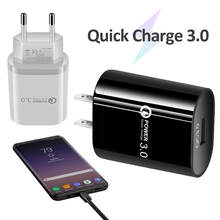 QC 3.0 USB charger Single Port Fast Charge Mobile P