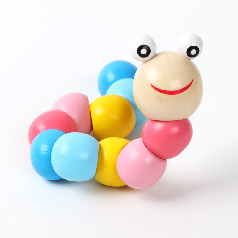 Flexible GIRL'S Worm Toy A-Year-Old Infant Men's Shilly Baby Early Childhood Educational Caterpillar Have 10-30 Yuan