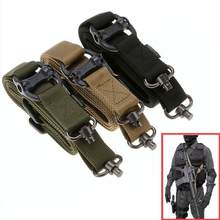 Magorui Hunting Tactical Rifle Gun MS4 Sling Strap Quick Detach QD Swivel Dual 2 Points