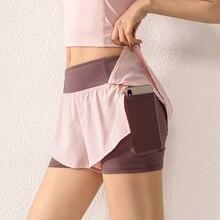 Новинка 2020, Спортивная теннисная юбка для девушек, женская короткая танцевальная юбка для тренажерного зала, шорты для бега, фитнеса и йоги, ...