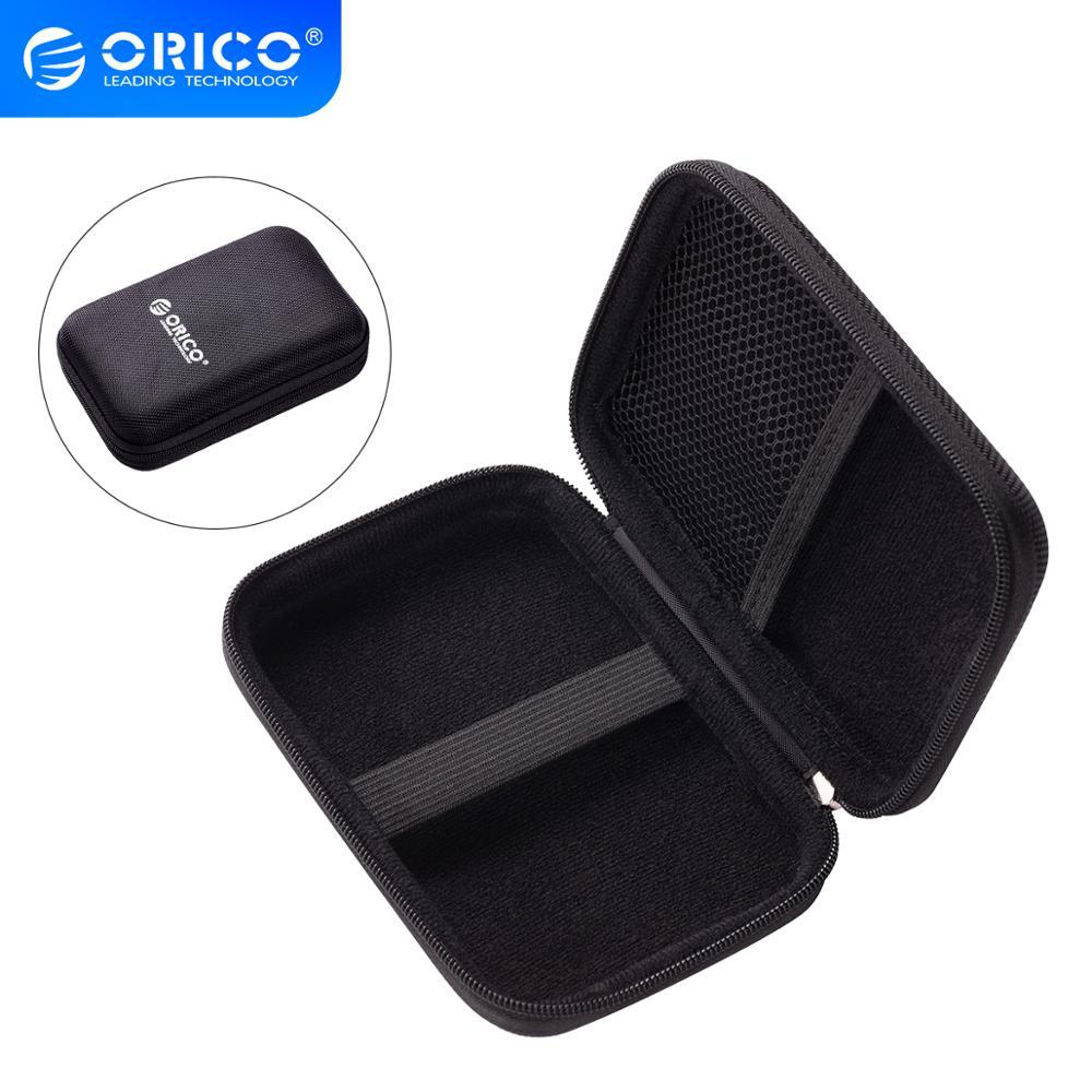 ORICO 2.5 inç HDD koruyucu saklama kutusu taşınabilir harici sabit disk koruma çantası çift tampon tabakası PHD