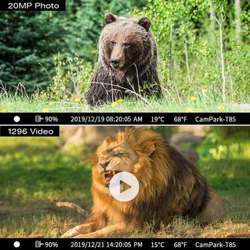 4K Hunting Camera Trap 20MP Infrared Hunt Night Vision Support 256GB Wildlife Photo-trap Hunting Trail Photo Camera Foto Chasse 6