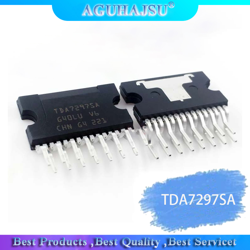 1PCS  TDA7297SA TDA7297 ZIP-15   Original
