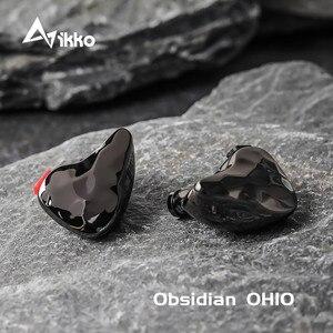 Image 1 - Ikko Obsidian سماعة رأس HIFI OH10 1BA 1DD ، داخل الأذن ، موسيقى ، Knowles ، Sonion BA Monitor ، hi fi ، حمى ، كابل قابل للفصل ، سماعات أذن
