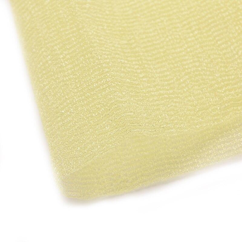 Новинка отшелушивающий нейлон скраб ткань полотенце ванна душ тело чистка мытье губки скрабберы продукты розовый зеленый желтый