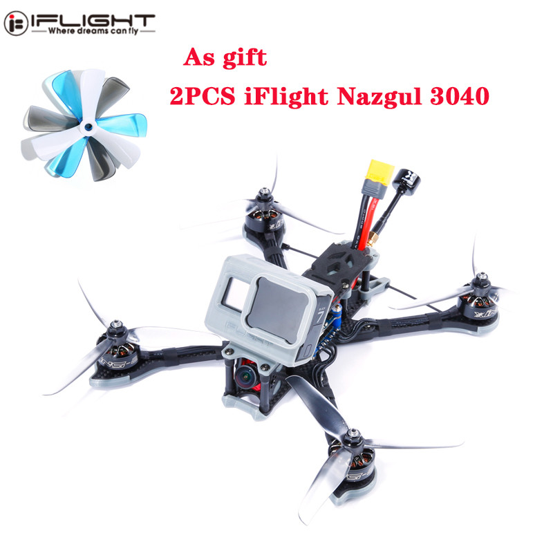 Closeout DealsESC Racing-Drone Qudcopter Iflight Nazgul5 FPV RC Caddx 5inch 2750kv/6s Multirotor 227mm