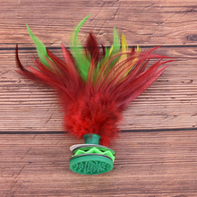 Shuttlecock Fitness Entertainment Hand-Wheel Foot-Kick China-Jianzi Fancy Colorful