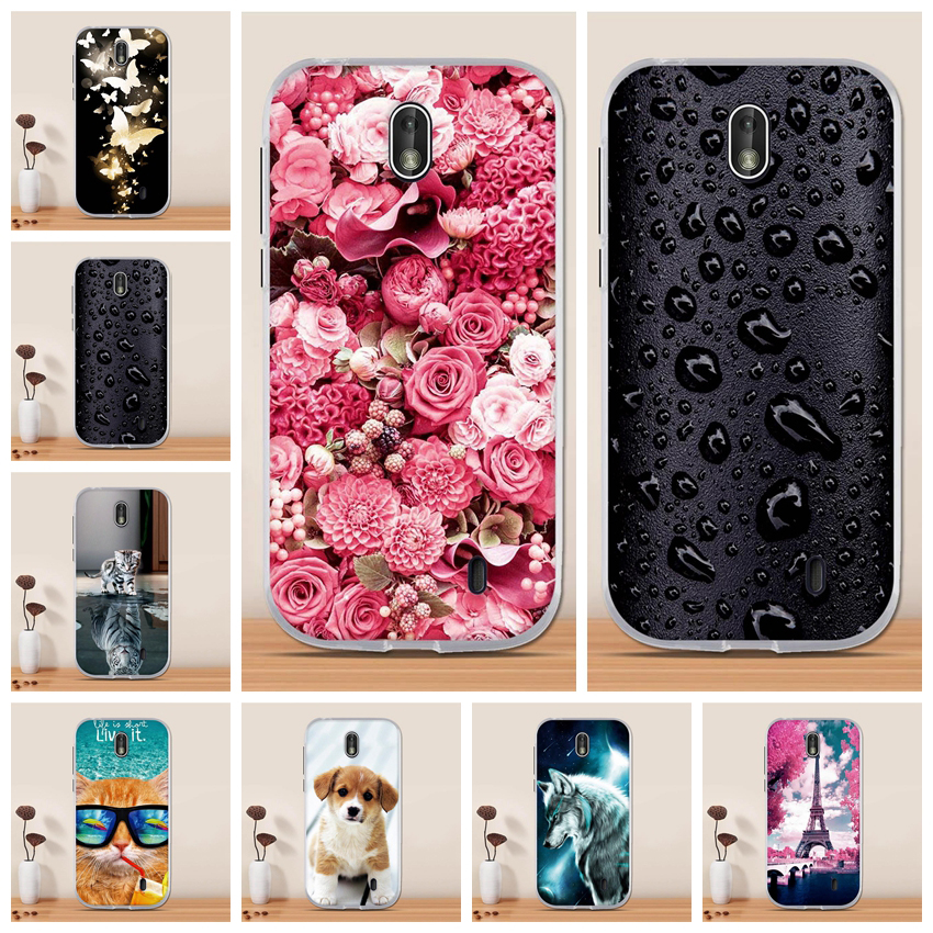 Cover for <font><b>Nokia</b></font> 1 <font><b>Case</b></font> Silicone TPU Soft 3D Painting Funda for Nokia1 <font><b>Nokia</b></font> 1 <font><b>2018</b></font> Capa Phone <font><b>Case</b></font> for <font><b>Nokia</b></font> 1 Cover Protective image