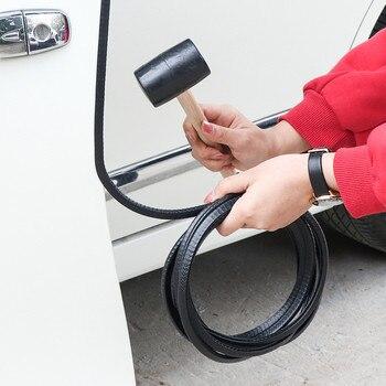 Protectores de borde de puerta de coche borde en forma de U Protector de sello de goma protección de coche Borde de puerta apto para la mayoría de coches