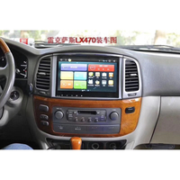 car Multimedia Player Quad Core Android 8.0 Car Radio GPS Navigation for Lexus LX470 / For Toyota Land Cruiser LC100 1998 2002