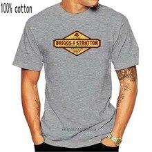 T-Shirt manches courtes pour homme et femme, estival et féminin, avec imprimé Briggs et Stratton Milwaukee