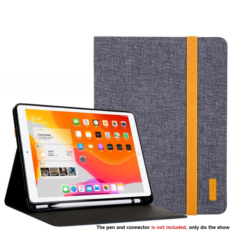 Gray Gray Smart Sleep Wake UP Case For iPad 10 2 7 th Generation 2019 Cover A2200 A2198