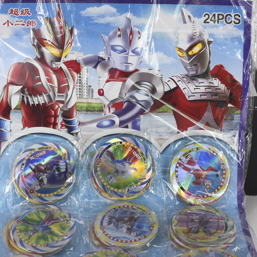 Ultraman Shining Cards For Children Toy 12pcs/set Collections Zoffy Kaiju Seven Ace Taro Mother Ultra Leo Flash Card