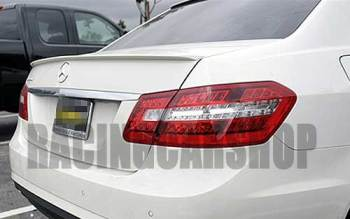 UNPAINTED AMG STYLE TRUNK BOOT LIP SPOILER fit for BENZ W212 E-CLASS E300 E350 E63AMG E550 E320 2010UP M042F 1