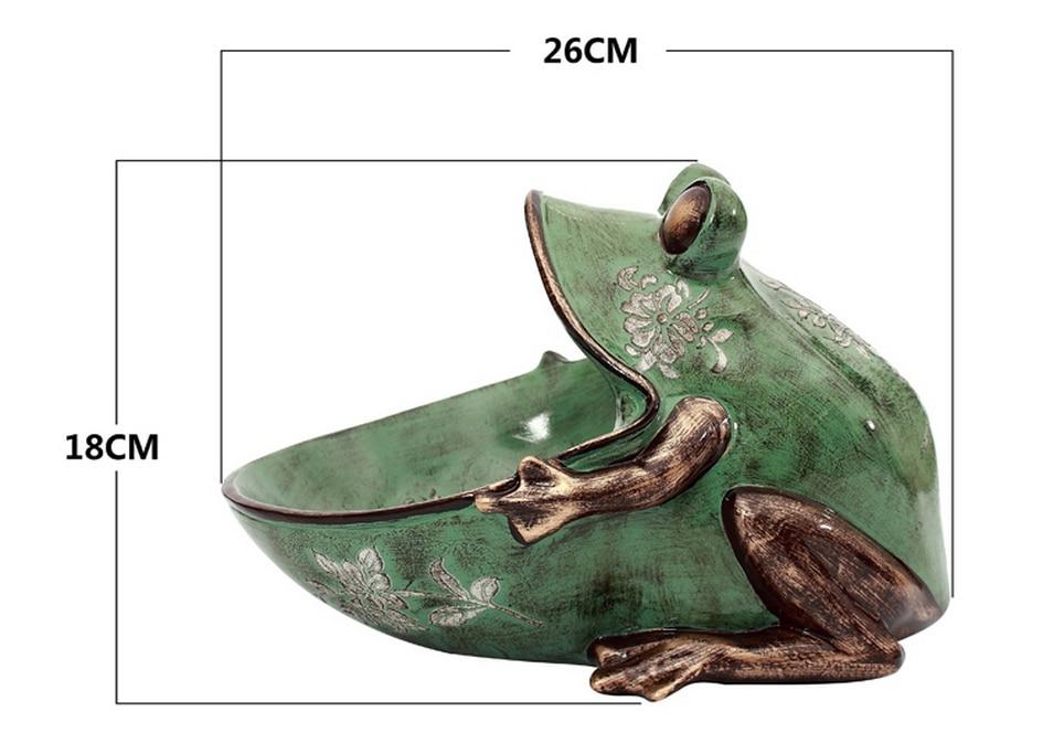 3d frog, estátua, acessório de decoração para