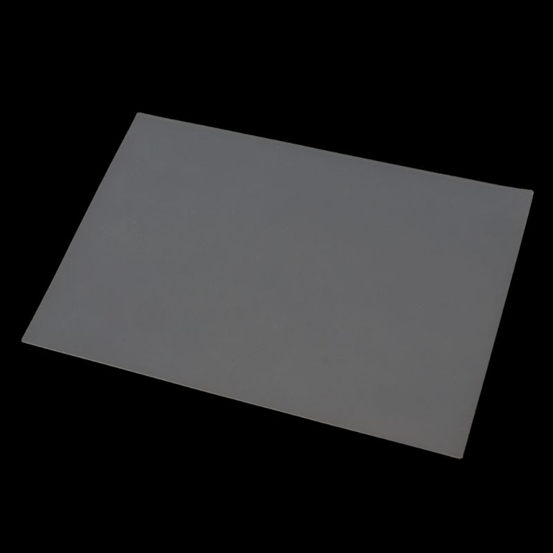 Silicone Clear Mat Resin Pad Craft Tool High Temperature Resistance Sticky Plate 517F