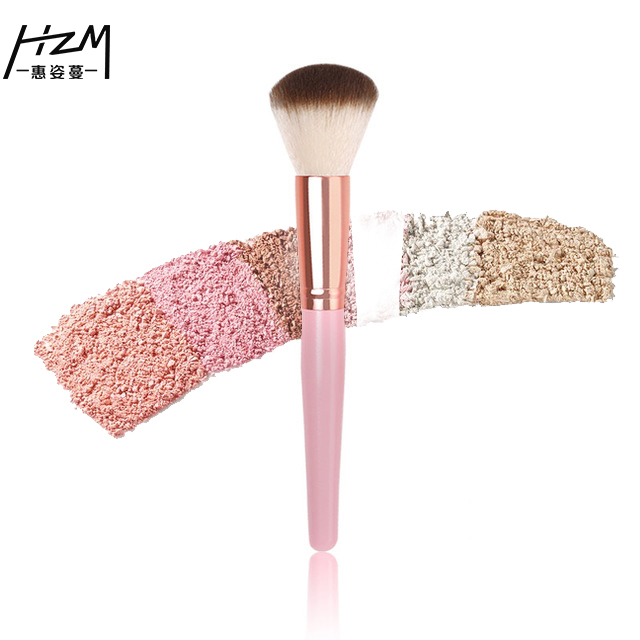HZM 1 OR 2 Pcs Soft Synthetic Hair Big Makeup Brushes Blusher Foundation Blush Beauty Cosmetic Tools YA49