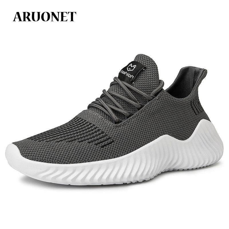 ARUONET New Arrivals Breathable Fashion Mens Sneakers Cozy Mens Shoes Cool Street Sneakers For Men Zapatillas Nike Hombre image