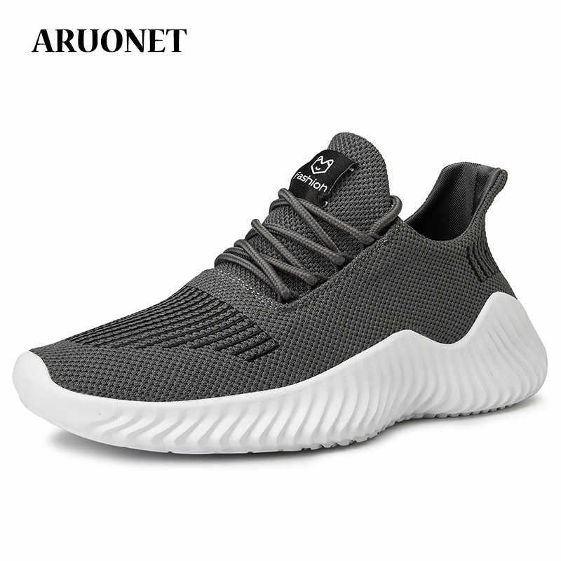 ARUONET yeni gelenler nefes moda erkek Sneakers rahat erkek ayakkabı serin sokak Sneakers Zapatillas Nike Hombre