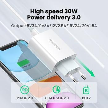 Ugreen PD зарядное устройство 30 Вт