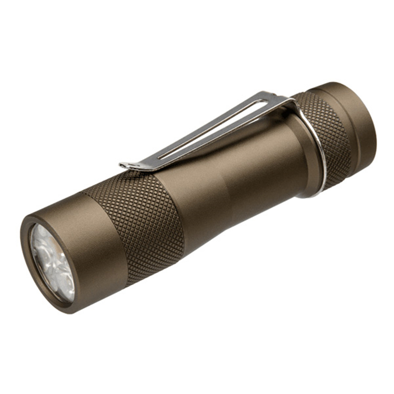BLF A6 XPL 7//4modes EDC LED Flashlight Torch IPX-8 Super Bright Lamp 18650