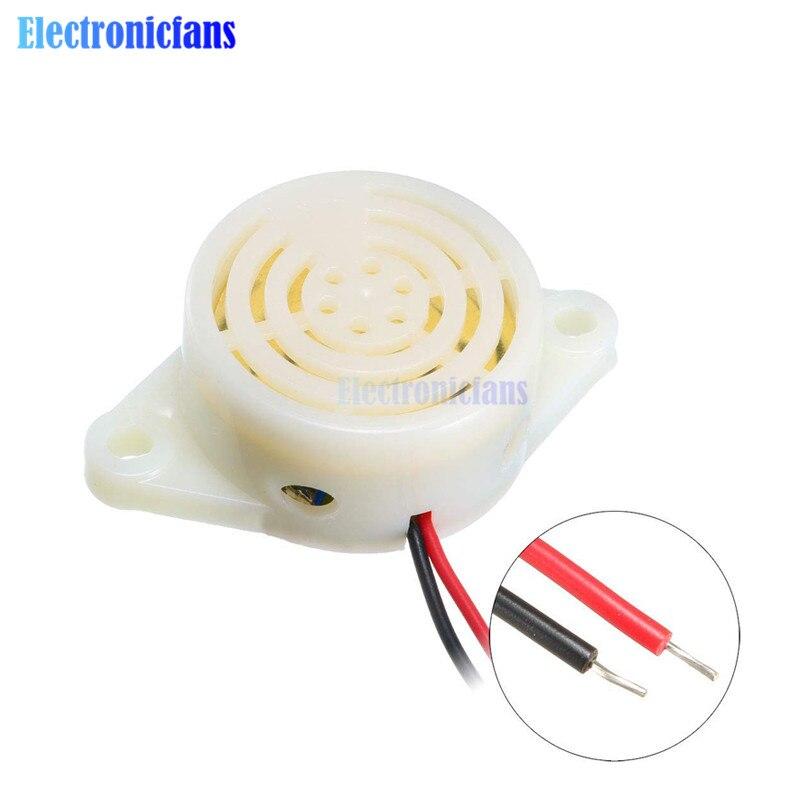 95DB Alarm High-decibel 3-24V 12V Electronic Buzzer Beep Alarm Intermittent Continuous Beep For Arduino SFM-27