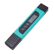 Портативный ЖК-цифровой тестер качества воды ручка чистоты фильтр всего растворенного поэтому метр Температура инструменты аксессуар