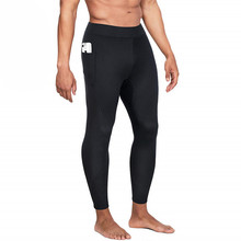 Male 2019 Fitness Sauna Underwear Mens Shapers Clothes Long Johns Thermal Tights Winter Neoprene Compression Underwear Quick Dry b60182111 bio a200 mens thermal long tights black neon тайтсы длинные