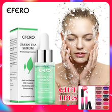 EFERO Green Tea Hydrating Serum Skin Care Whitening Nourish Treatment Anti Wrinkle Aging for Face Fine Lines Essence