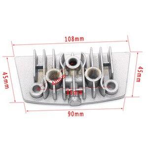 Image 4 - Motorrad Öl Kühlung Kühler Chinesische Made Kühler Ölkühler Set Für 50cc 70cc 90cc 110cc 125cc 140cc Horizontal Motor