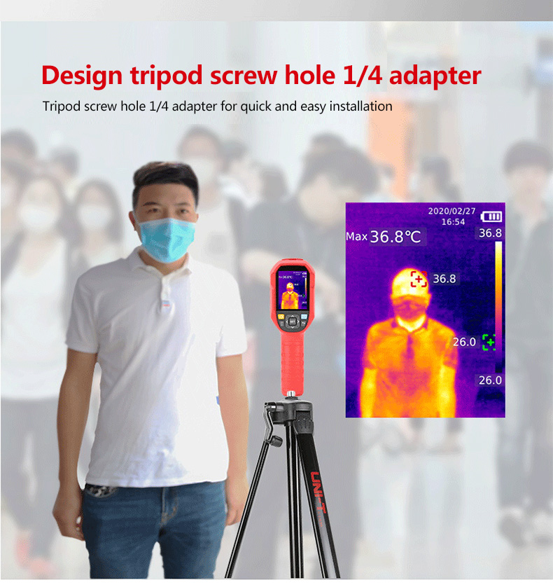 Mini Infrared Thermal Imaging Camera With Type-C USB Interface for Lithium Battery Charging 9
